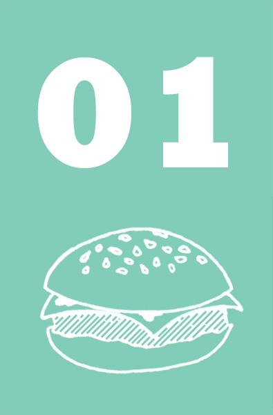 01 - Hamburguesa