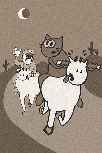 28---Cow-chase