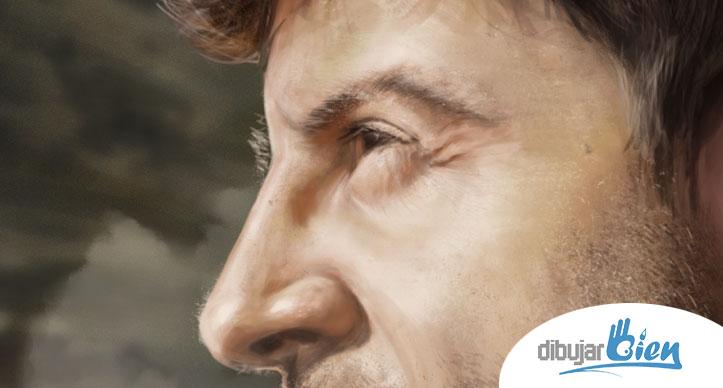 Dibujo retrato con Photoshop