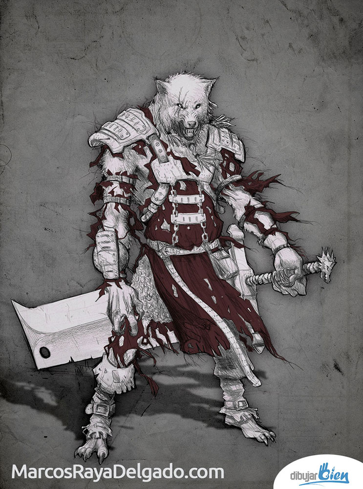 Fenris el Hombre Lobo Licántropo