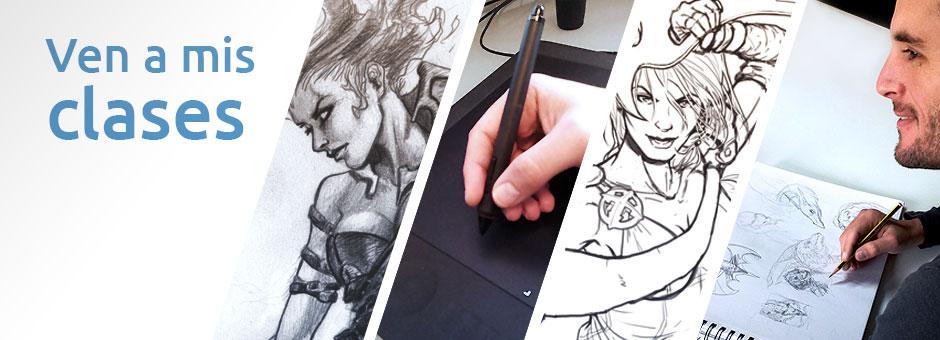 Clases de dibujo en Mallorca