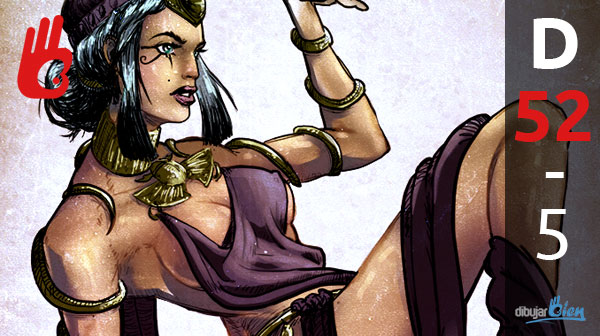 El nuevo personaje egipcio de Street Fighter, Nadja. D-52 – Dibujar Bien.com