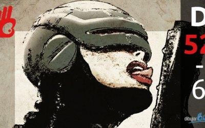 RoboCop sexy girl, ahora con botón de apagado. D-52 – Dibujar Bien.com