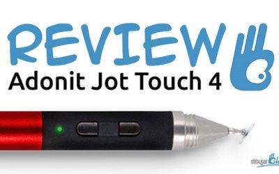 Review Adonit Jot Touch 4 ¿El mejor stylus para dibujar con iPad?