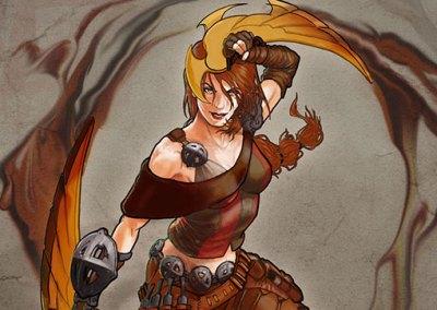 Diseño de personaje para videojuego: Eleonor