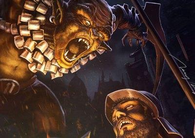 Ilustración: Masacre Goblin