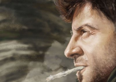 Estudio de un rostro: El Renegado (retrato)
