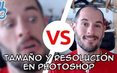 ¿Cuál es el mejor tamaño y resolución para dibujar con Photoshop?