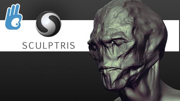 Modelar con Sculptris rápida y facilmente