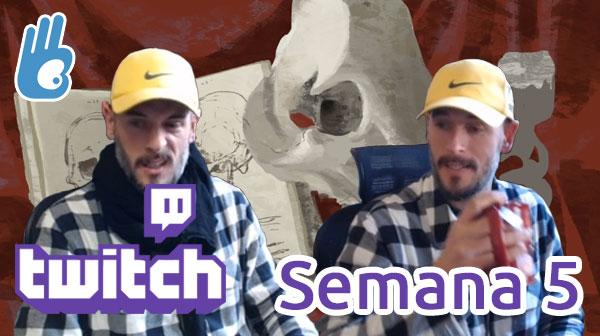 Streams de Twitch Semana 5 – Estudio Hobbit y el comienzo de una carta para Magic
