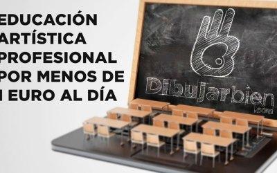 FORMACIÓN ARTÍSTICA PROFESIONAL POR MENOS DE 1€/DÍA