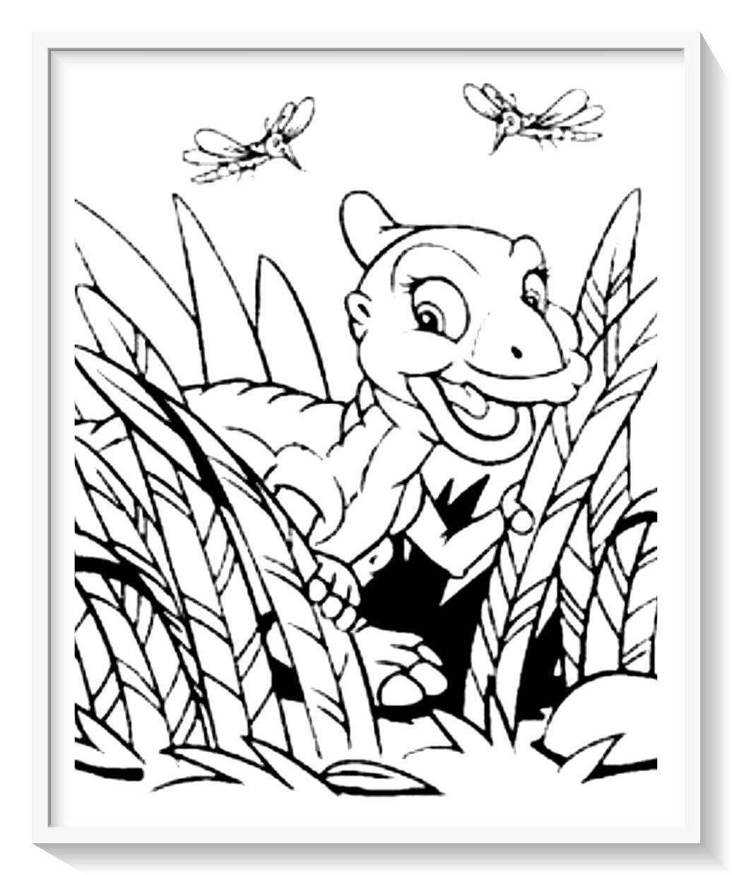 Juegos De Pintar Dinosaurios En 3d Biblioteca De