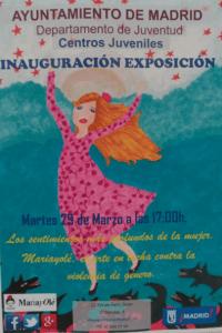 Cartel expo María. Aymto. Madrid.