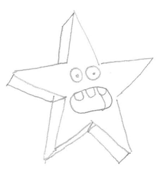 Imagenes De Dibujos De Estrellas Para Colorear On Log Wall