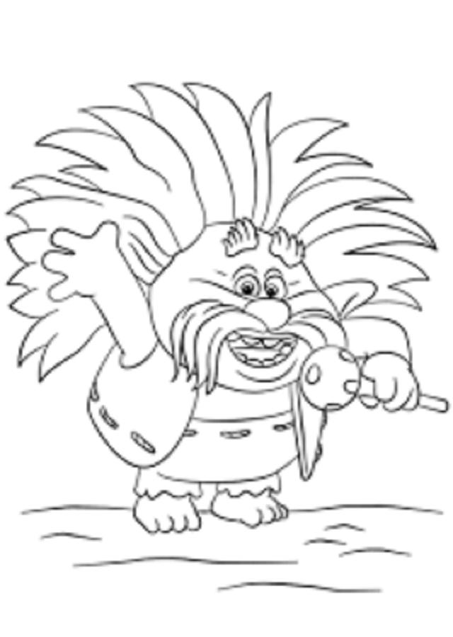 Trolls Dibujos Para Colorear