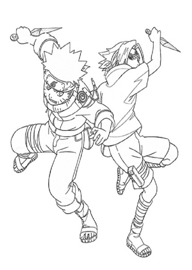 Dibujos Para Colorear Naruto Dibujos Para Colorear
