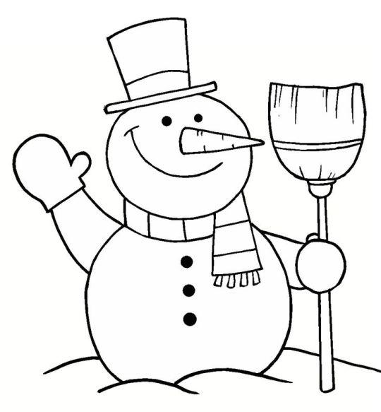 Bonitos Dibujos De Navidad Para Colorear Faciles.Dibujos De Navidad Faciles Para Ninos