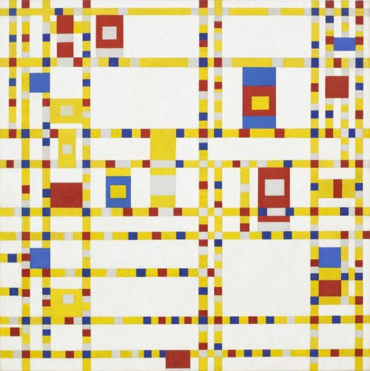 Broadway Boogie-Woogie Piet Mondrian Pintor Holandes