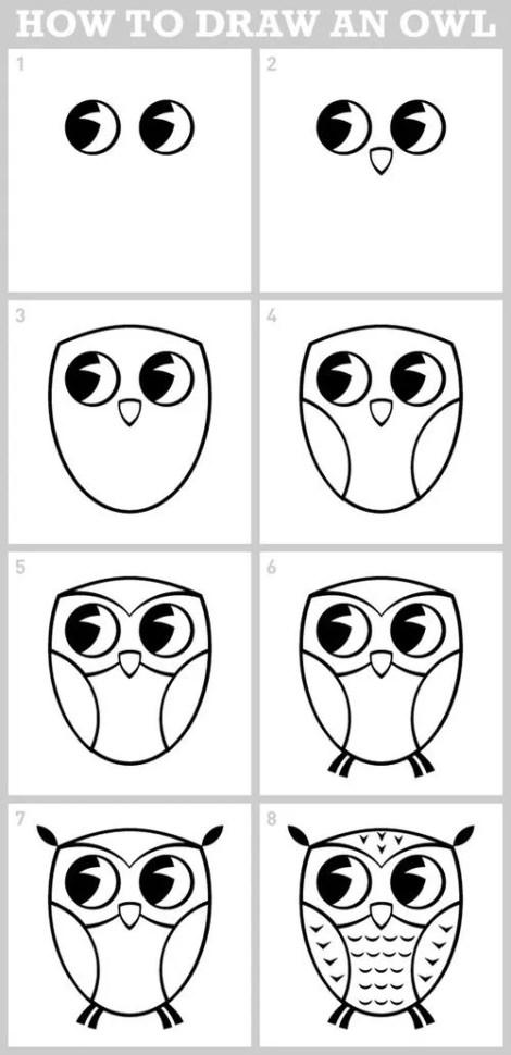 Dibujos faciles para dibujar paso a paso