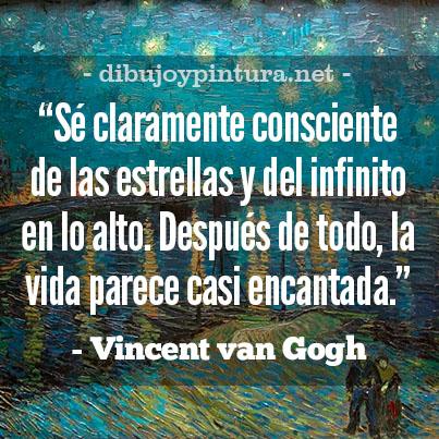 Frases de Vincent Van Gogh en español