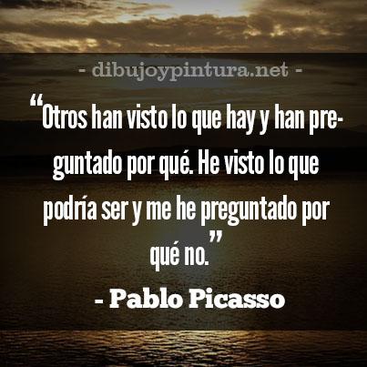 Frases de Pablo Picasso para la vida