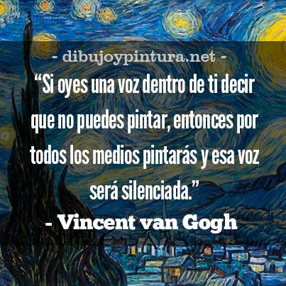 Frases famosas de Vincent Van Gogh