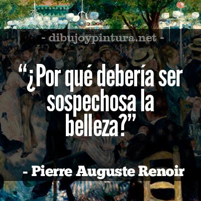Imagenes con citas del Pintor Frances Auguste Renoir