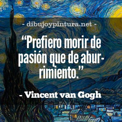 Imagenes y frases de Vincent Van Gogh