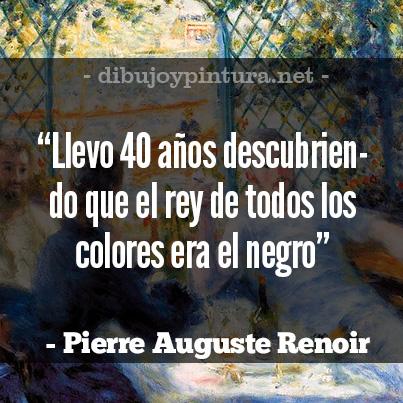 Pierre Auguste Renoir Frases de pintores