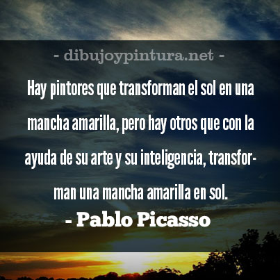 Imagenes Con Frases Celebres De Pablo Picasso