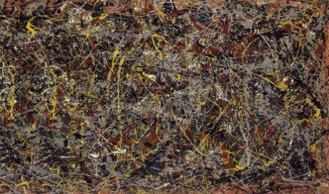 Jackson Pollock obra maestra pintura abstracta Number 5