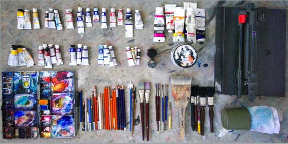 Materiales para pintar