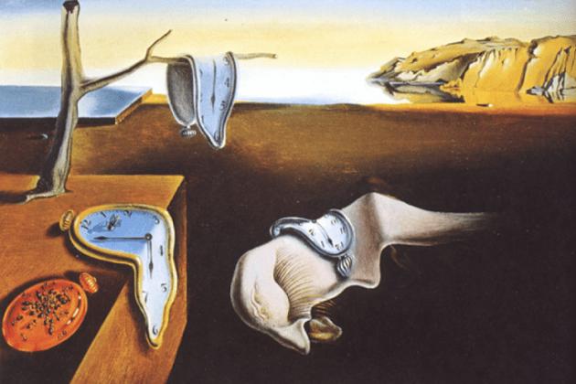 Obra Del Pintor Contemporaneo Salvador Dali-La persistencia de la memoria