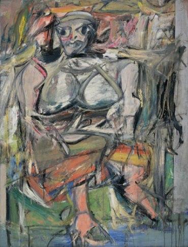 Willem de Kooning Obra maetra abstracta Mujer I