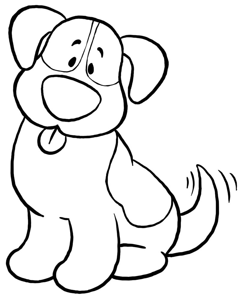 Dibujos animados de perros para niños
