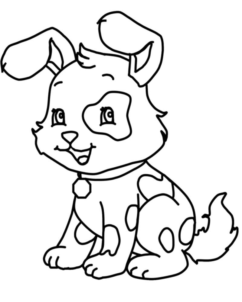 Dibujos para calcar de perros