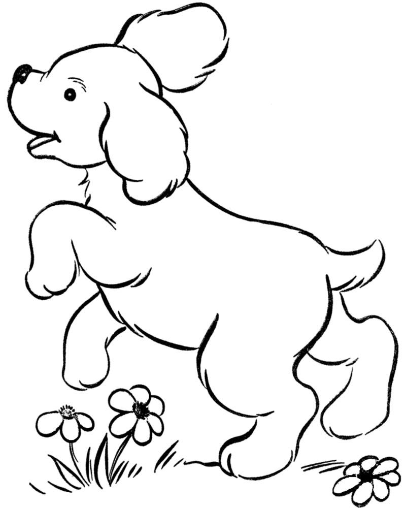 Dibujos para colorear de perros