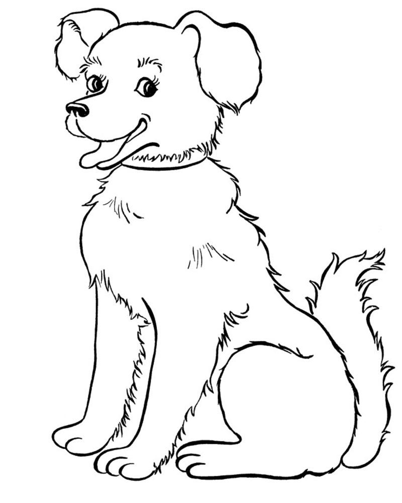 Dibujos para pintar de perros