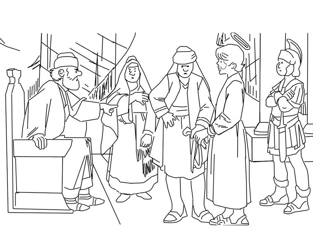 Imagenes de dibujos de la Semana Santa y Cuaresma para pintar