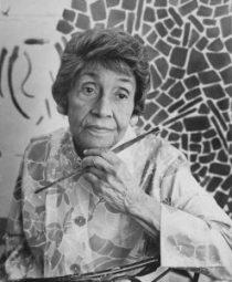 Alma Thomas pintora expresionismo abstracto