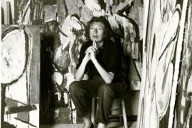 Lee Krasner artista abstracta expresionista