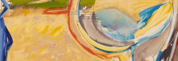 Mary Abbott artista femenina del expresionismo abstracto