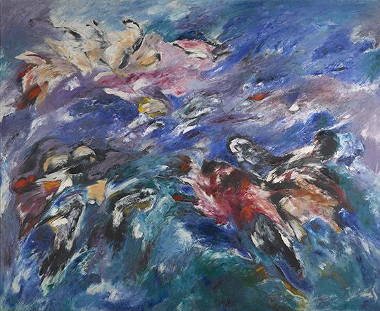 Obras Expresionismo Abstracto De Sonia Gechtoff
