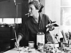 Perle Fine artista femenina del expresionismo abstracto