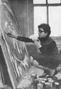 Pintora Expresionista Abstracta Sonia Gechtoff