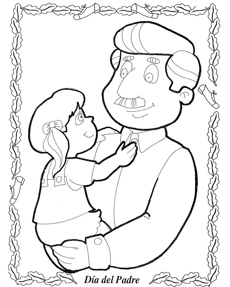 Dibujos para decorar por el dia del padre
