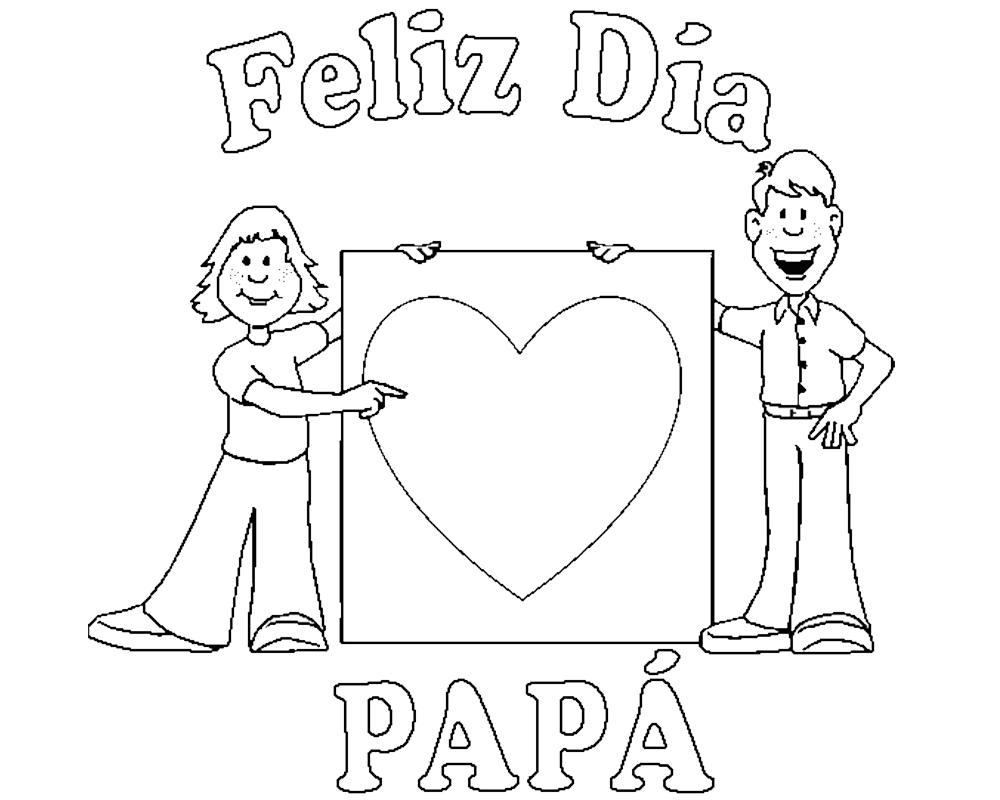 Imagenes chidas para dibujar Feliz día papá