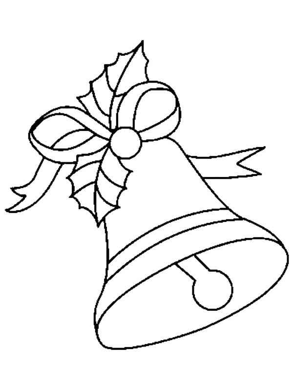 Dibujos Para Pintar De Campanas De Navidad.Dibujos Faciles Para Ninos De Campanas De Navidad Para Colorear