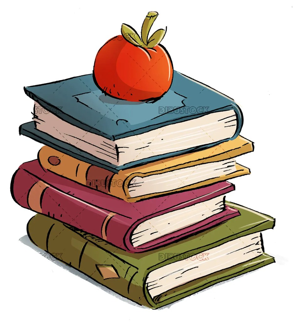 Books with apple