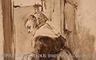 Rembrandt - femme à la fenêtre